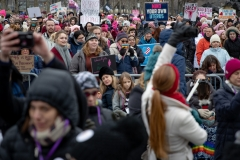January 19, 2019:  Senator Maria Collett joins thousands at the 3rd Annual Women's March in Philadelphia.